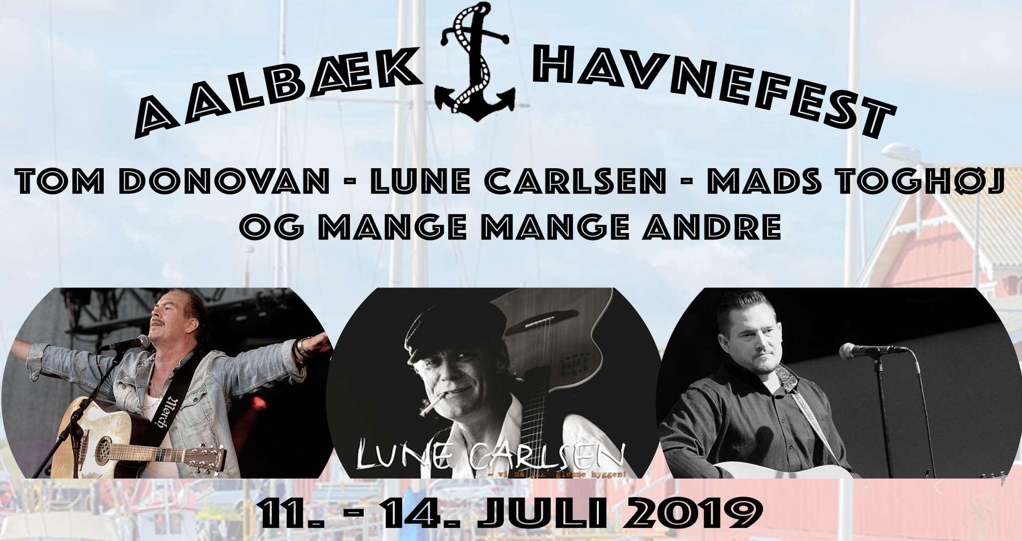 Artister til Havnefesten 2019